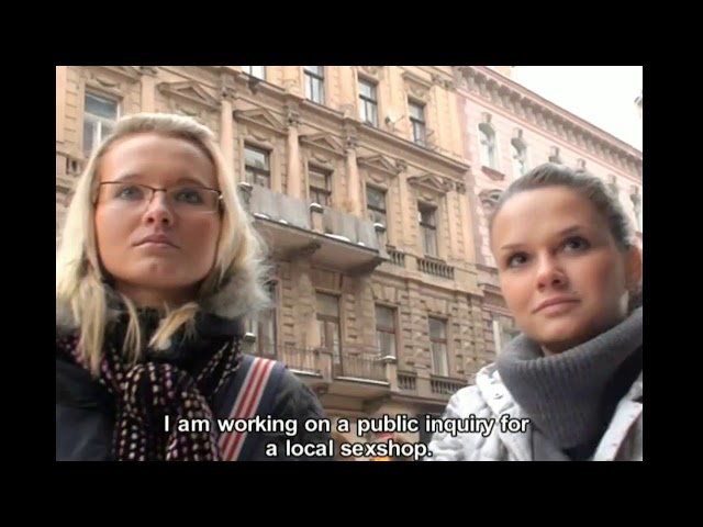 Fake Agent Public Pickup 2 Girls from Czech Streets