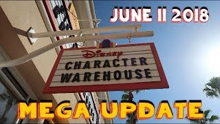Disney Character Warehouse UPDATE 6/11/2018