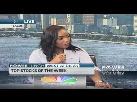 Nigerian market trading in the green