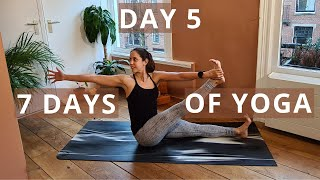 Twists | Create Your Home Yoga Practice Routine // Day 5 of Seven Days of Yoga