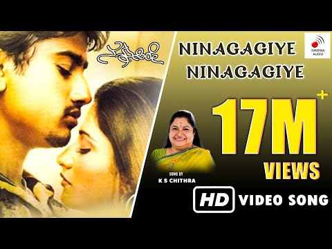 Nannusire Kannada Movie - Ninagaagiye Ninagaagiye | Video Song HD | Rahul, Keerthi