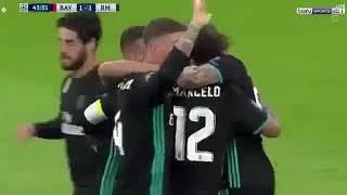 ملخص اهداف مباراة ريال مدريد وبايرن ميونخ Summary of goals against Real Madrid and Bayern Munich