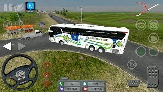 National Travels Scania Bus Driving in Bus Simulator Indonesia - Android GamePlay   Scania Bus Games