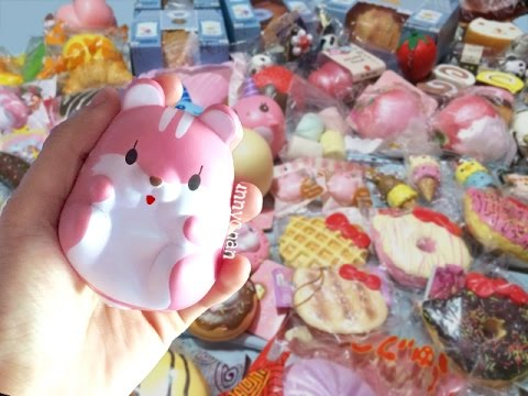 Massive Squishy Collection : OVER 200 SQUISHIES?! MASSIVE SQUISHY COLLECTION 2016 (Part 2) - YouTube