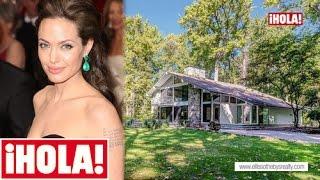 Así es la casa donde se crió Angelina Jolie y que ahora está a la venta