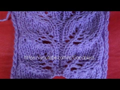 вязание спицами ажурные узоры реглан