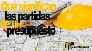 Presupuesto de construcción