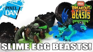 Breakout Beasts Mega Construx Slime Egg Dragon Figures Video Review
