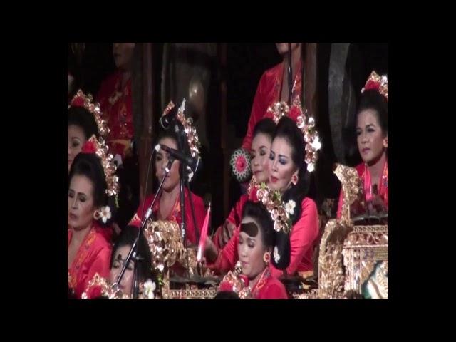 Tabuh Kreasi Prami Sakti oleh  Gong Kebyar Wanita MEKAR SARI Balerung Peliatan pd PKB ke 36 Th 2014