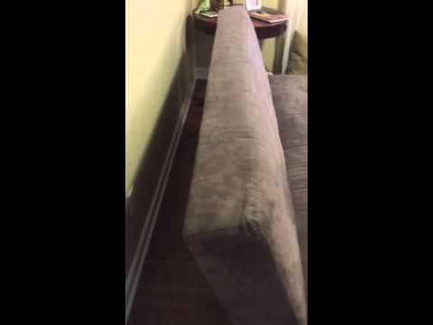 How To Fold Down The Couch Futon Into A Bed