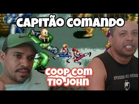 Coop Com Tio John (capitão comando) no PS2