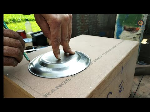 How to make speaker box at home