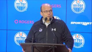 ARCHIVE | Peter Chiarelli Trade Deadline Media Avail