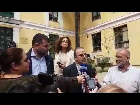 Δηλώσεις Βαξεβάνη και Μαντζουράνη μετά από τη μήνυση της συζύγου του Στουρνάρα