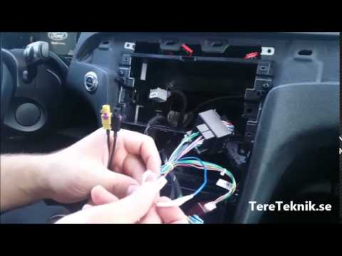Ford Mondeo Mk4 Radio Wiring Diagram Pv For A Piston S Max Bilstereo Montering Youtube