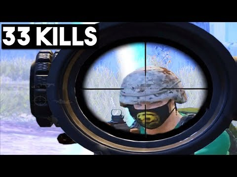 FASTEST SNIPE & PRO TIPS! | 33 KILLS Duo vs SQUAD | PUBG Mobile