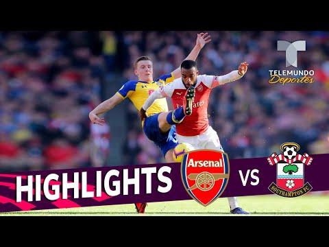 Arsenal vs. Southampton: 2-0 Goals & Highlights | Premier League | Telemundo Deportes