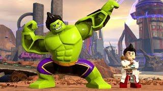 LEGO Marvel Super Heroes 2 - Totally Awesome Hulk / Amadeus Cho Free Roam (Champions DLC)
