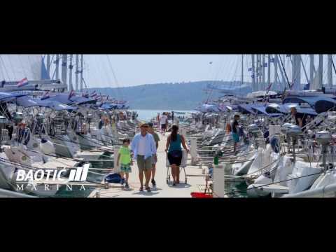 Marina Baotić - sailing in Croatia 2017