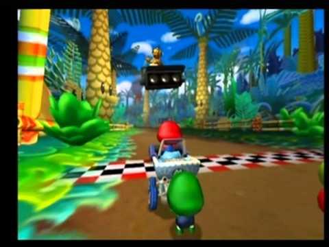 Gamecube Games – Mario Kart: Double Dash!! | The Gaming Geek  |Baby Mario And Baby Luigi Mario Kart Double Dash
