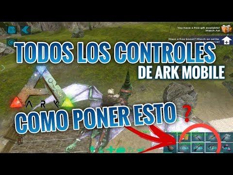 ARK MOBILE TODO SOBRE LOS CONTROLES TÁCTILES Y MÁS 🔥