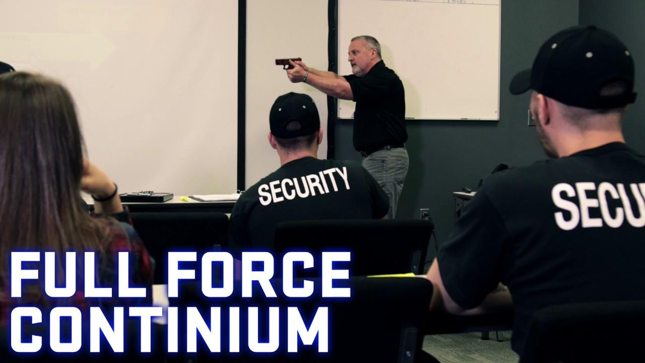 Threat Dynamics Dpsst Security Training Sherwood Oregon Youtube