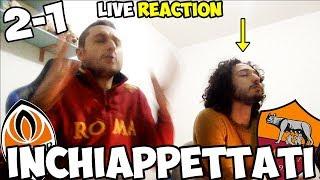 L'ANIMA dei MEGLIO MORTACCI NOSTRI | Shakhtar Donetsk-Roma 2-1 [LIVE REACTION]