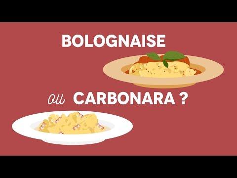 Bolognaise ou Carbonara ? - Les carnets de Julie