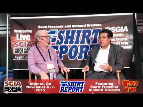 T-Shirt Report SGIA 2015 - Interview with Peter Choi - All American Supply