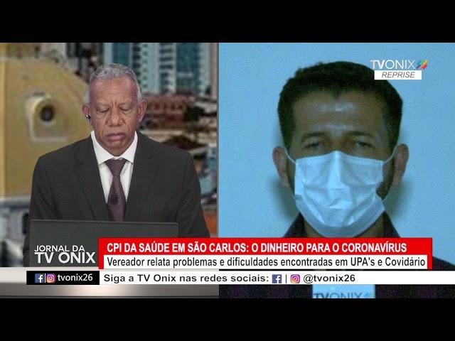 Jornal da TV Onix - Ao Vivo: 26/05/2021