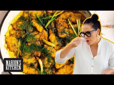 Vietnamese 'Cha Ca' Turmeric & Dill Fish - Marion's Kitchen