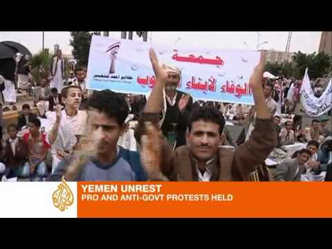 Yemen's Saleh vows to resist 'outlaw' protesters