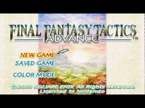 Let's Play FFTA Viera-only challenge Episode 1 The beginning