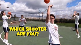 The Different Types of Shooters