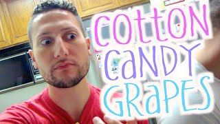 COTTON CANDY GRAPES ARE REAL