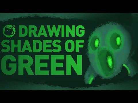 Drawing Shades Of Green