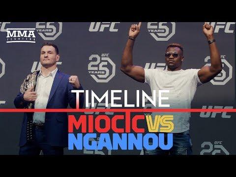 UFC 220 Timeline: Stipe Miocic vs. Francis Ngannou - MMA Fighting