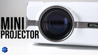 Myriann Portable Mini Multimedia Projector Setup And Review