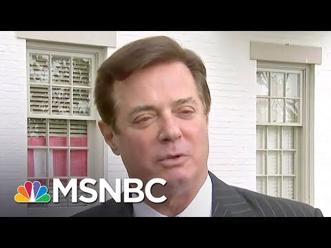 Paul Manafort Wiretapped And Threatened With Indictment: Reports | Rachel Maddow | MSNBC