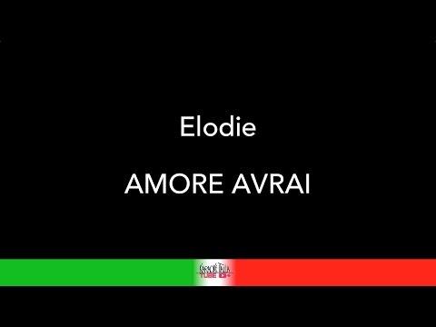 COVER KARAOKE - ELODIE - AMORE AVRAI