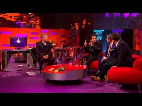 The Graham Norton Show S14E09 with Ben Stiller, Martin Freeman, Jamie Oliver (русские субтитры)