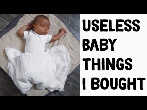 What you DONT need for a baby || What I regret buying 👶🏽