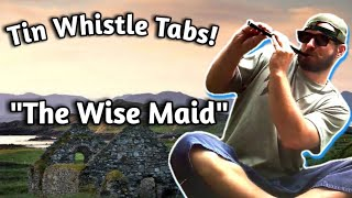 THE WISE MAID Tin Whistle Lesson with Tabs!!