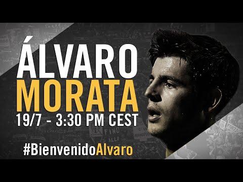 Presentazione di Alvaro Morata alla Juventus - Presentación de Álvaro Morata con la Juventus