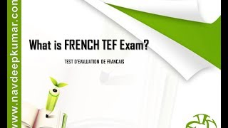 What is French TEF Exam