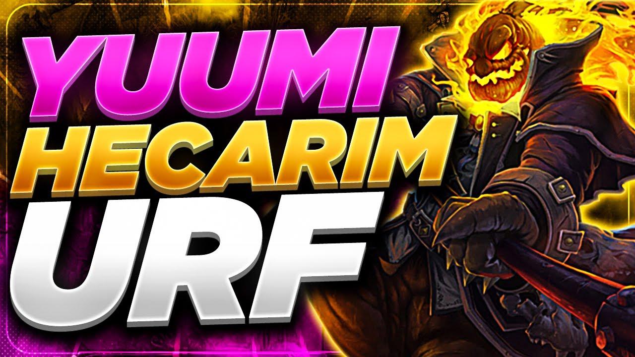 Zedxsmurf | YUUMI + HECARIM =72KILL (URF)
