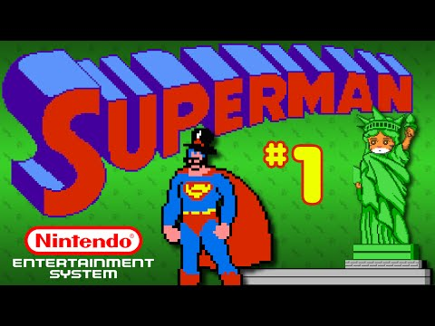 Superman (NES) - Part 1: Junk In The Trunks - Octotiggy