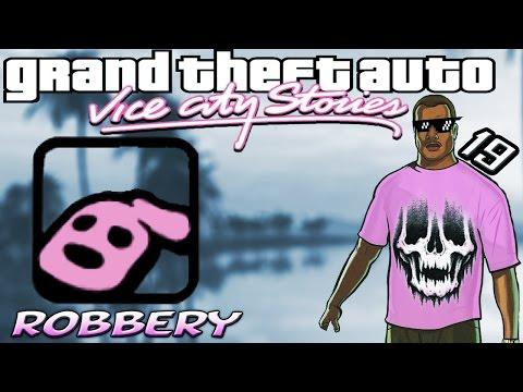 GTA VCS [:19:] Robbery [100% Walkthrough]