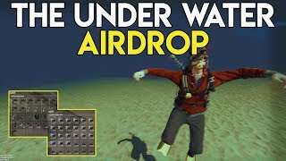 CRAZY WIPE DAY SNOWBALL AND AIRDROP UNDER WATER! - Rust Survival #69