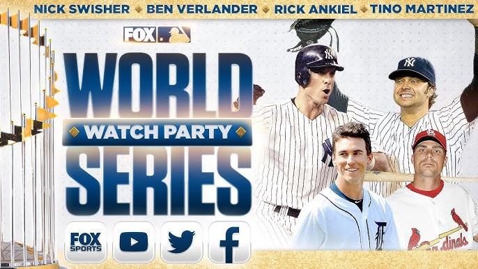 World Series Watch Party: Nick Swisher, Tino Martinez, Rick Ankiel, Ben Verlander | GAME 6 | FOX MLB